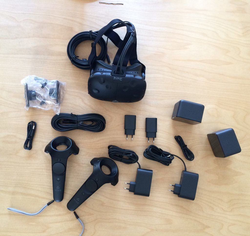 HTC Vive VR-Brillen-Set
